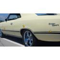1967 Chevy Chevelle SS Wheel Opening Stripe Kit