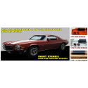 1970-72 Camaro Z/28 Paint Stencil- 1970 ½ & 1971-1972 HS - With RS
