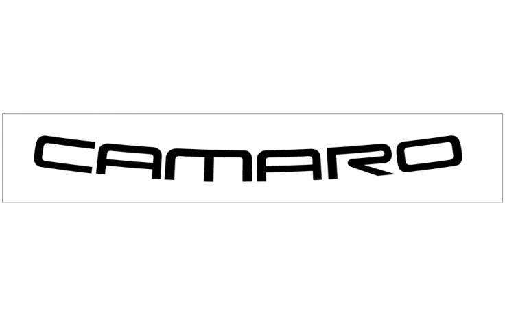 1993-02 camaro windshield decal