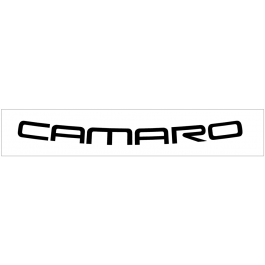"1993-02 Camaro Windshield Decal - 3"" x 40"""