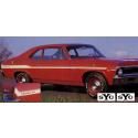 1969 Chevy Nova Yenko SYC Stripe Kit
