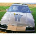 1982-84 Camaro Z/28 Hood Scoop Blackout Decal Kit