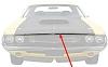 "1970 Dodge Challenger T/A Hood Lip Trim Molding Trim - 52"""