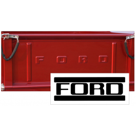 1953-72 Ford F100 Tailgate Letter Decal Set - FLAIRSIDE