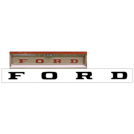 1964-72 Ford F100 - F250 Tailgate Letter Decal Set
