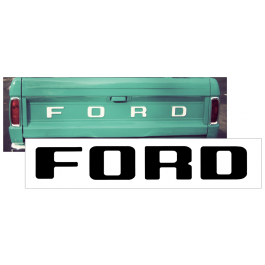1980-89 Ford Ranger Tailgate Letter Decal Set - FLAIRSIDE