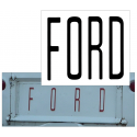 1961-67 Ford Econoline Tailgate Letter Decal Set