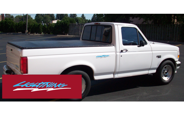1993-95 Ford F150 Lightning Side Bed Decal